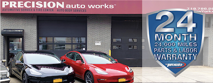 Precision Auto Works of LIC offers expert mechanical repair and routine automotive maintenance, like oil change service and NYS inspections, in Long Island City, NYC 11101.