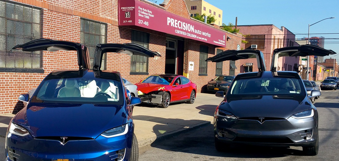 Precision Auto Works of LIC guarantees all our mechanical automotive repairs and collision auto body work. Automotive service Saturday appointments.