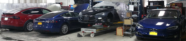 Precision Auto Works of LIC, NY is a Tesla Approved body shop.