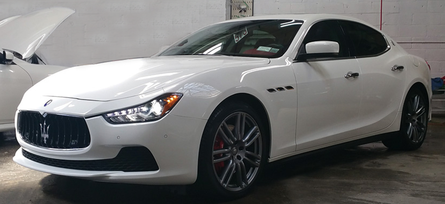 Precision Auto Works of LIC NYC is your independent Maserati Body Shop