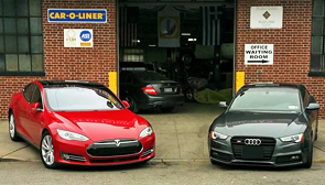 Precision Auto Works of LIC body shop for certified collision repair.