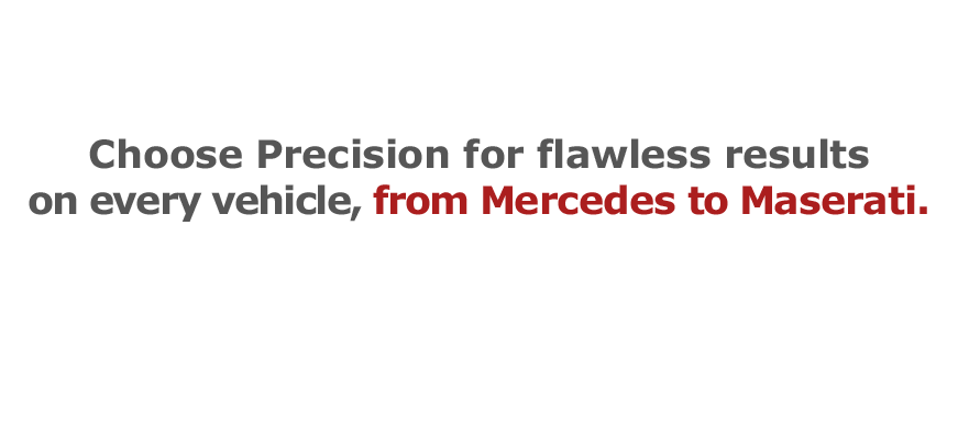 Precision Auto Works of LIC NYC is experienced on every vehicle, from Mercedes collision repair to Maserati collision repair.