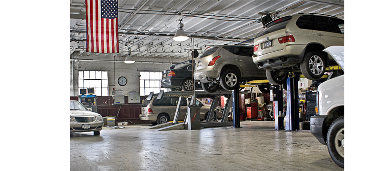 Precision Auto Works of LIC guarantees all our mechanical automotive repairs and collision auto body work.