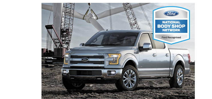 Precision Auto Works specializes in aluminum constructed vehicles, like Tesla Motors and the Ford F-150 truck.